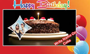 Birthday Wish Maker Name Photo On Birthday Cake For Android Apk