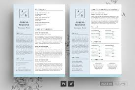 Indesign Simple Resume Template Create A Professional Resume 43