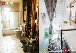 Bathroom Remodels Images Enchanting Before And After Bathroom Renovation A CoastalMeetsIndustrial