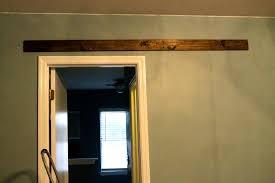 Hanging Sliding Door Kit How To Mount A Barn Door Using Tc Bunny Hardware From Amazon
