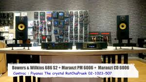 bowers and wilkins 686 s2. sound system : bowers \u0026 wilkins 686 s2 + marazt pm 6006 cd - youtube and