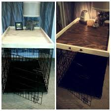furniture denhaus wood dog crates. dog kennel crate topper can also be used as an ottoman coffee table tray furniture denhaus wood crates