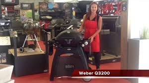 Barbecue Weber Q3200 Review - YouTube
