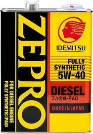 <b>Масло моторное IDEMITSU</b> ZEPRO DIESEL <b>FULLY SYNTHETIC</b> ...