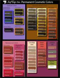 Softap Color Chart Softap Pigment Color Chart