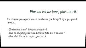 100 Proverbes Français Et Leur Signification 110