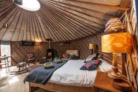 Bramblewood Yurt Southernwood Castle Bed Wood Burner Interior