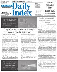 Tacoma Daily Index February 26 2015 by Sound Publishing issuu