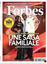 Queen of Luxury in Africa Jennifer Obayuwana covers Forbes.