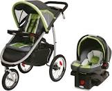 Graco FastAction Fold Jogger Travel System with SnugRide Click Connect 35 Infant Car Seat - Piazza 1926846