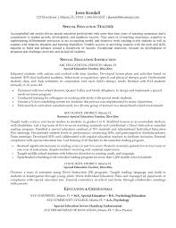 Resume: Sample Preschool Teacher Resume