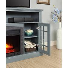 Media Fireplace Tv Stand Tvs Up To 65 Black 65 Inch Tv Stand A21