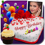 Photo On Birthday Cake Cake With Name And Photo Apk Download