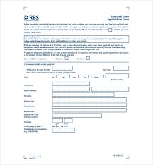 Loan Application Form 5 Loan Application Form Templates Pdf Free Premium Templates