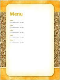 breakfast menu template 6 free breakfast menu templates stationery templates