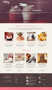 Bakery Websites Free Bakery Wordpress Theme For Cake Cupcakes And Pastries