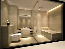 spa bathroom lighting. Guest Toilet With Spa Bathroom Not Part Of Main Bedroom Serviceapartment_armani_bathroomjpg Dream Homes Lighting