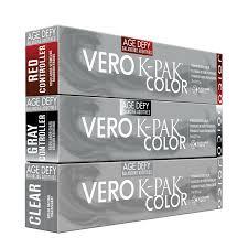 Joico Vero K Pak Hair Color Chart Vero K Pak Age Defy Color Joico Cosmoprof