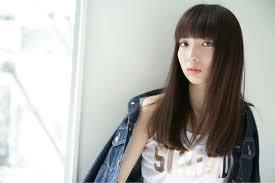 ぱっつん前髪で憧れの芸能人似ヘアスタイルbiglobe Beauty 髪型