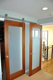 glass bedroom door barn door contemporary bedroom glass window above bedroom door