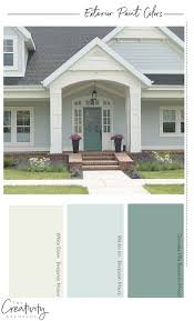 Light Blue Houses With White Trim How To Choose The Right Exterior Paint Colors