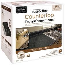 rust oleum tub and tile refinishing kit lowes. rust-oleum countertop transformations charcoal semi-gloss resurfacing kit (actual net contents rust oleum tub and tile refinishing lowes f
