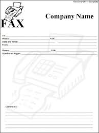 fax cover sheet free how to do a fax cover letter