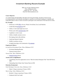 Objective For Banking Resume Wonderful Bank Teller Job Resume Objective Contemporary Entry 19