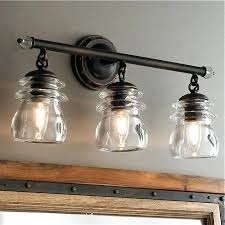 Rustic Bathroom Vanity Lights Magnificent Rustic Bathroom Lighting Ideas Elegant Rustic Bathroom Lighting