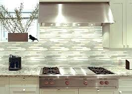 Tile Backsplash Photos Extraordinary Best Adhesive For Glass Tile Backsplash Large Size Of Glass