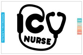Icu Nurse Svg Cricut Files Graphic By Svgitems Creative Fabrica