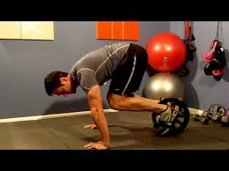 Best <b>Ab Power</b> Wheel Workout - YouTube