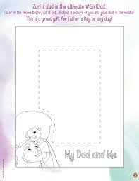 Here's a colorful way for young kids to say happy father's day! Father S Day Printables And Activities Brightly