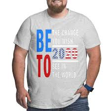 Amazon Com Cici Red Beto 2020 Be The Change You Wish Mens