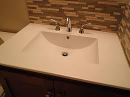 bathroom sink countertop one piece creative decoration