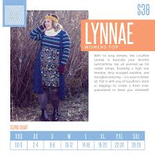 Lularoe Lynnae Product Description And Sizing Chart