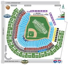 Safeco Field Seattle Wa Seating Chart View
