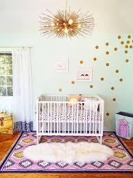 boho style nursery room decor