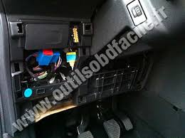 obd2 connector location in citroen c3 ii 2009 outils obd citroen c3 ii fuse box