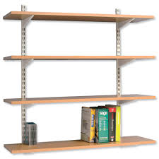 office wall shelving systems. Image For Kelly Office Suppplies: Unspecified ID: 6596 Adjustable Wall Shelving System Systems O