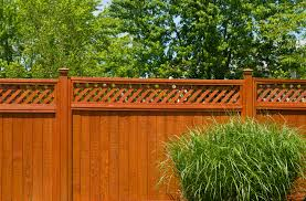 wooden fence front view