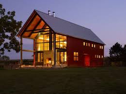 building a pole barn home kits cost