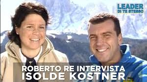 Roberto Re intervista Isolde Kostner - 2006 - YouTube