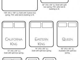 Measurements For California King Mattress