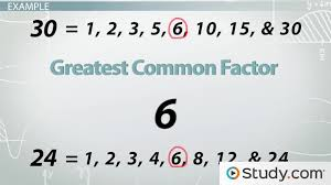 Word Problems: Greatest Common Factor & Least Common Multiple ...
