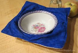 Microwave Bowl Holder Pattern Delectable Tutorial Flat Out Microwave Bowl Holder Sewing