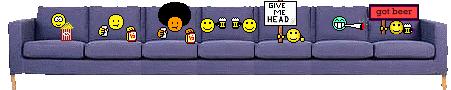 Afbeeldingsresultaat voor got beer smiley couch
