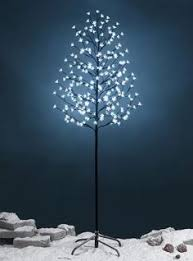 Fairy Lights <b>LED Branch Lamp</b> Floor Stand Tree Light Snowy Gold ...