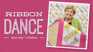 Learn to make the Ribbon Dance Quilt with Jenny! - YouTube & Learn to make the Ribbon Dance Quilt with Jenny! Missouri Star Quilt Company Adamdwight.com