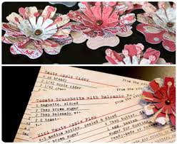 4 Petal Flower Paper Punch Paper Flowers